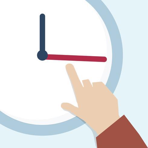 Ilustración de la gestión del tiempo.