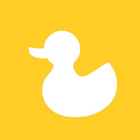 Icône illustration de jouet pour enfant canard