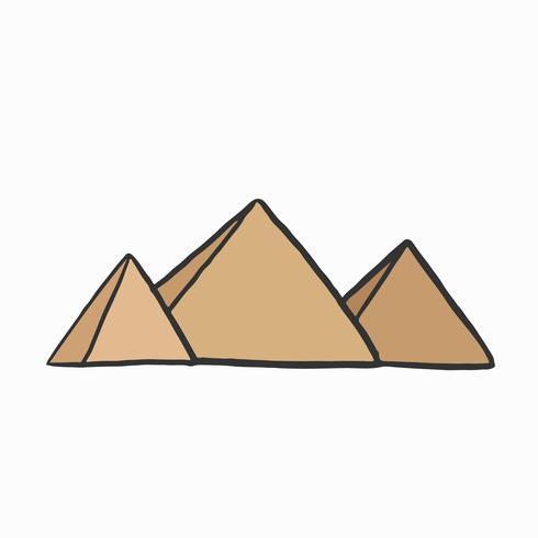 As grandes pirâmides de Gizé