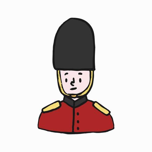 Voet wacht, Britse legerillustratie