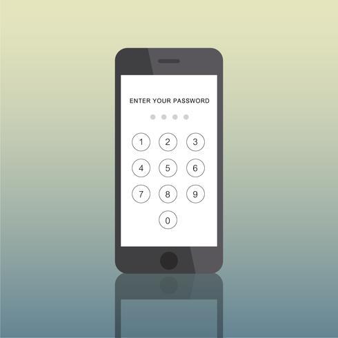 Conceptions clipart téléphone mobile