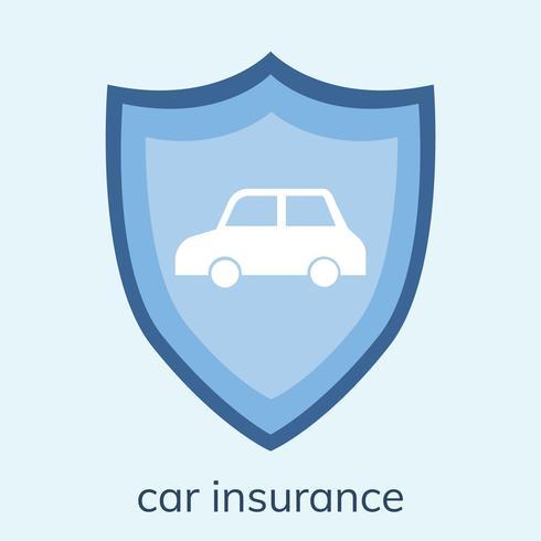 Abbildung einer Autoversicherungsikone
