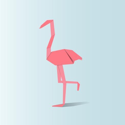 Vettore di animali origami