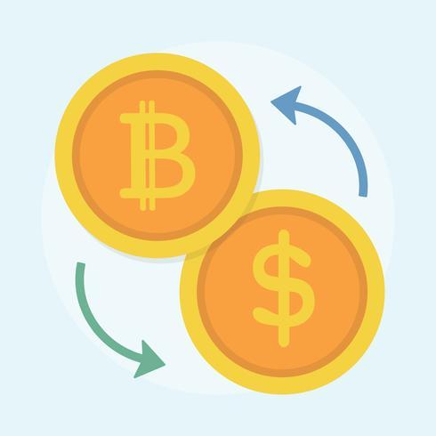 Illustration du concept Bitcoin