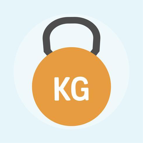 Illustration d'une kettlebell