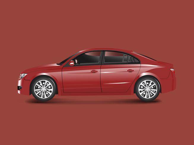 Rote Limousine