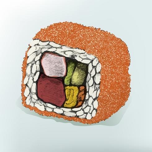 Abbildung des japanischen Lebensmittels
