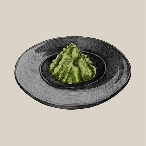 Illustration d'herbe japonaise