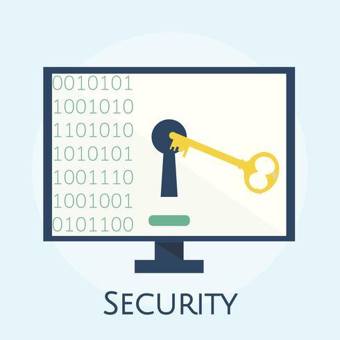 Illustration du concept de cybersécurité