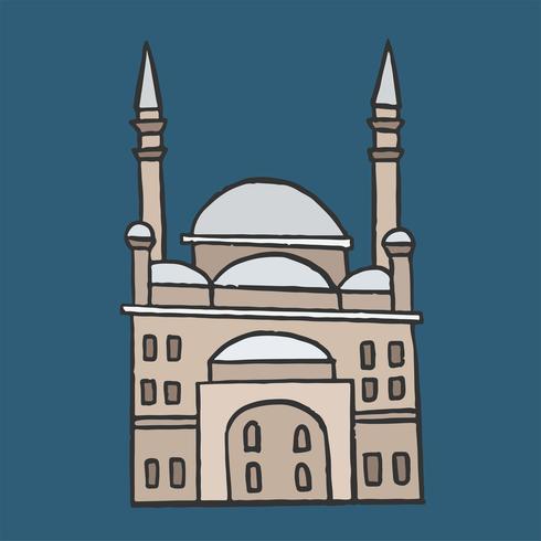A Grande Mesquita de Muhammad Ali Pasha na Cidadela do Cairo