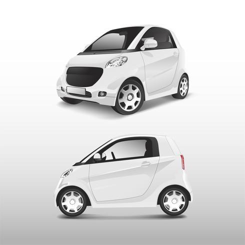 Weißer kompakter hybrider Autovektor