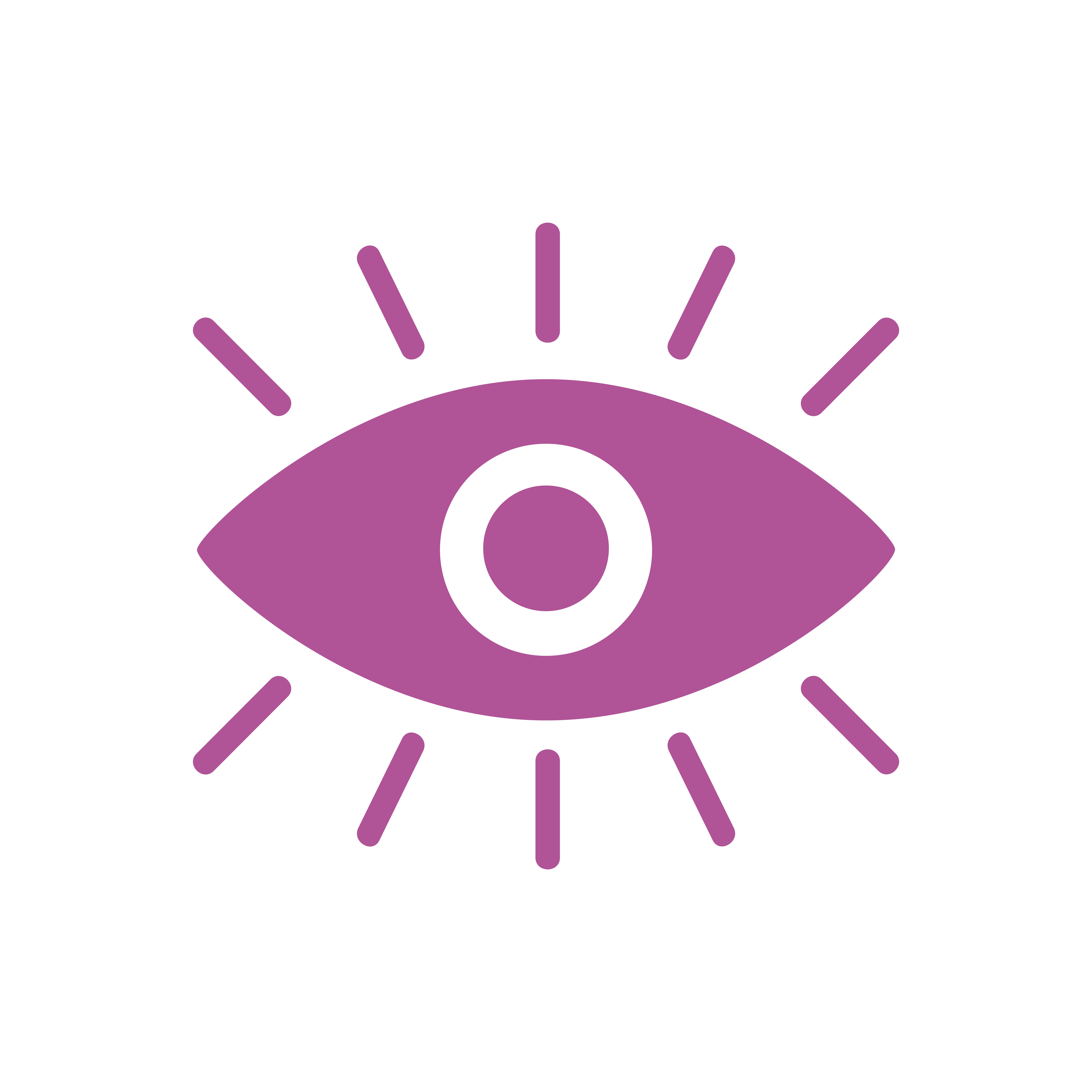 A Pink Eye Graphic Icon Download Free Vector Art Stock