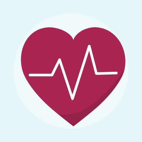 Illustrazione di un cuore sanitario