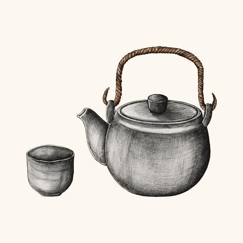 Illustration d'une boisson japonaise