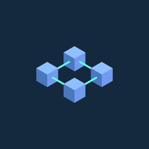 Icono de la cadena de bloque