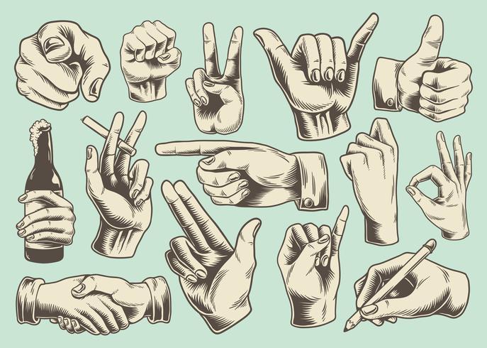 Mão, sinal, ícone, jogo
