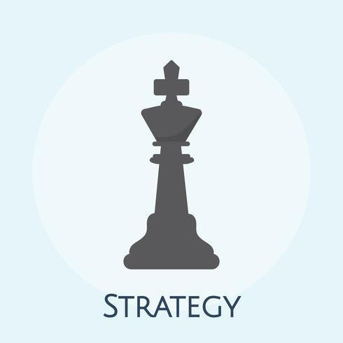 Illustration des Geschäftsstrategiekonzeptes