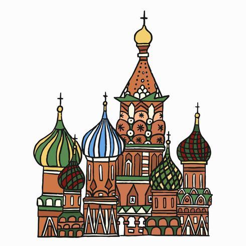 St Basil's Cathedral i Moskva, Ryssland