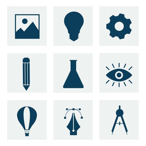 Coleção de gráficos de ícone de negócios