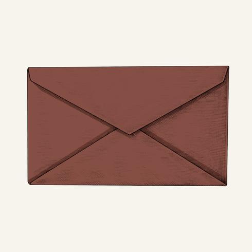 Hand-drawn envelope illustration