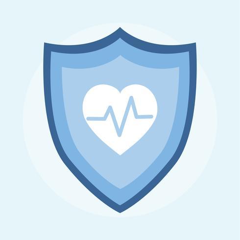 Illustration av sjukförsäkring
