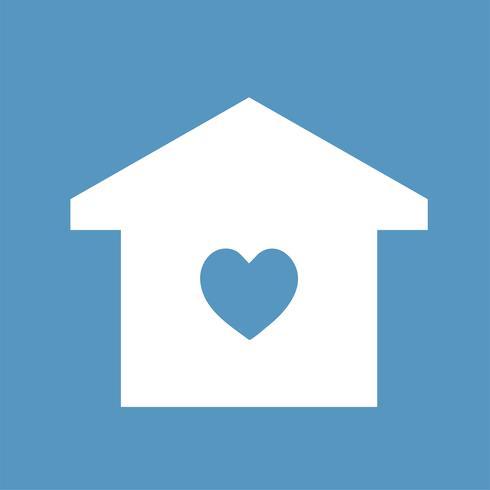 Casa da família feliz icon ilustração