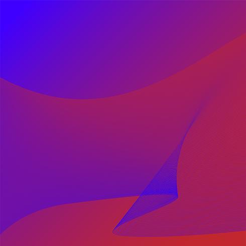 Färgglada vibrerande 3d våg grafik