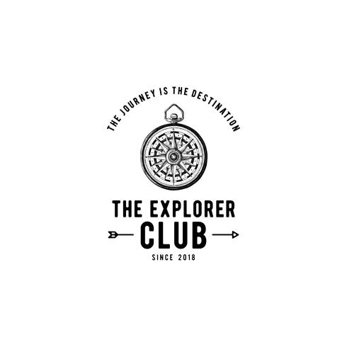 Utvecklarklubben logo design vektor