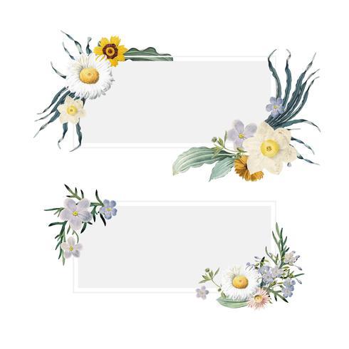 Blomstrande sommarbanderoller