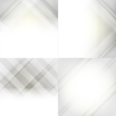 Set Di Sfondo Astratto Sfumato Grigio E Bianco Scarica Gratis Arte