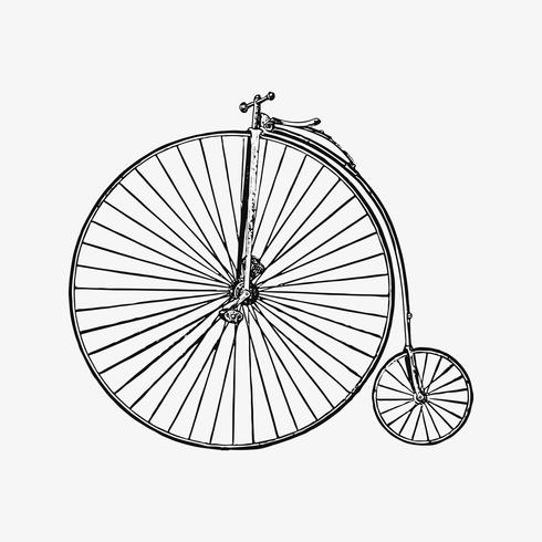Vélo style Penny Farthing