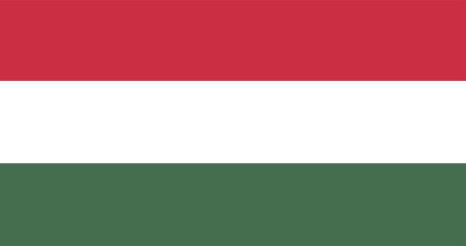 Illustration av Ungerns flagga