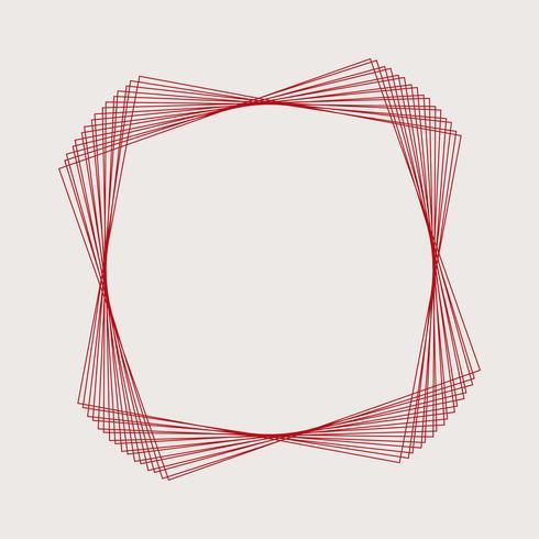 Abstrakt cirkulär geometrisk element vektor