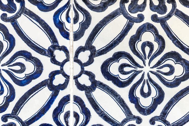 Illustration av golvplattor mönster