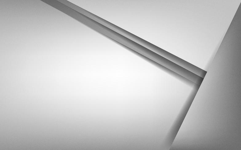 Desenho abstrato em cinza claro