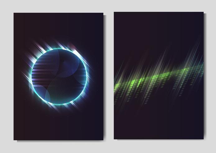 Poster effetto neon