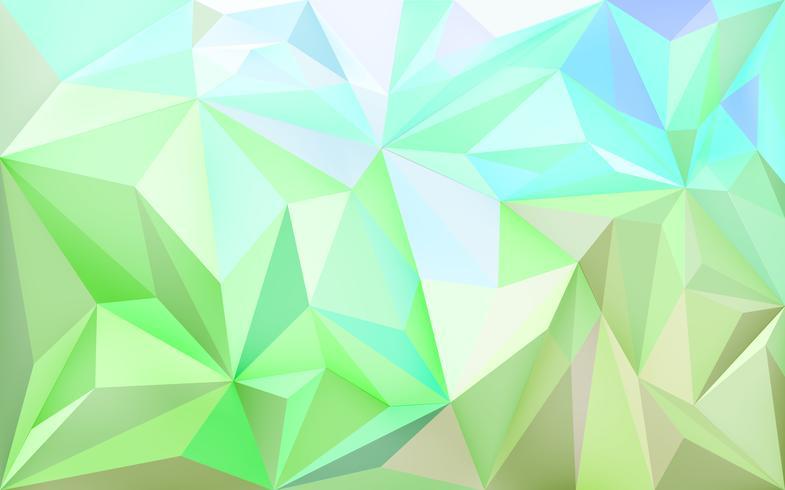 Fond d'écran avec des polygones en dégradé de couleurs