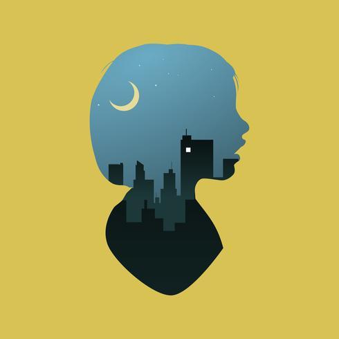 Illustration de la silhouette humaine