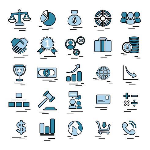 Ilustración de la empresa de inicio