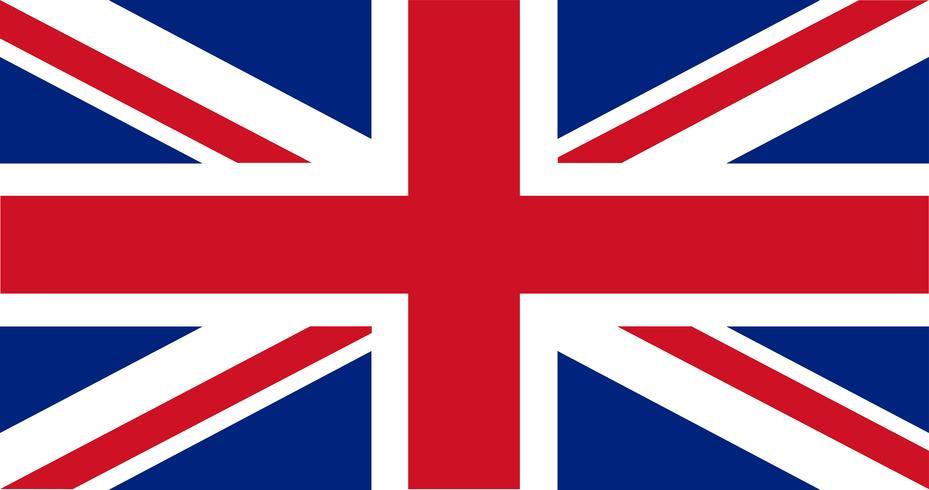 Illustrazione della bandiera del Regno Unito