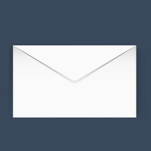 E-Mail-Korrespondenzikonen-Vektorillustration