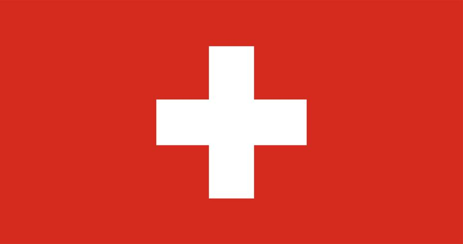 Illustration of Switzerland flag