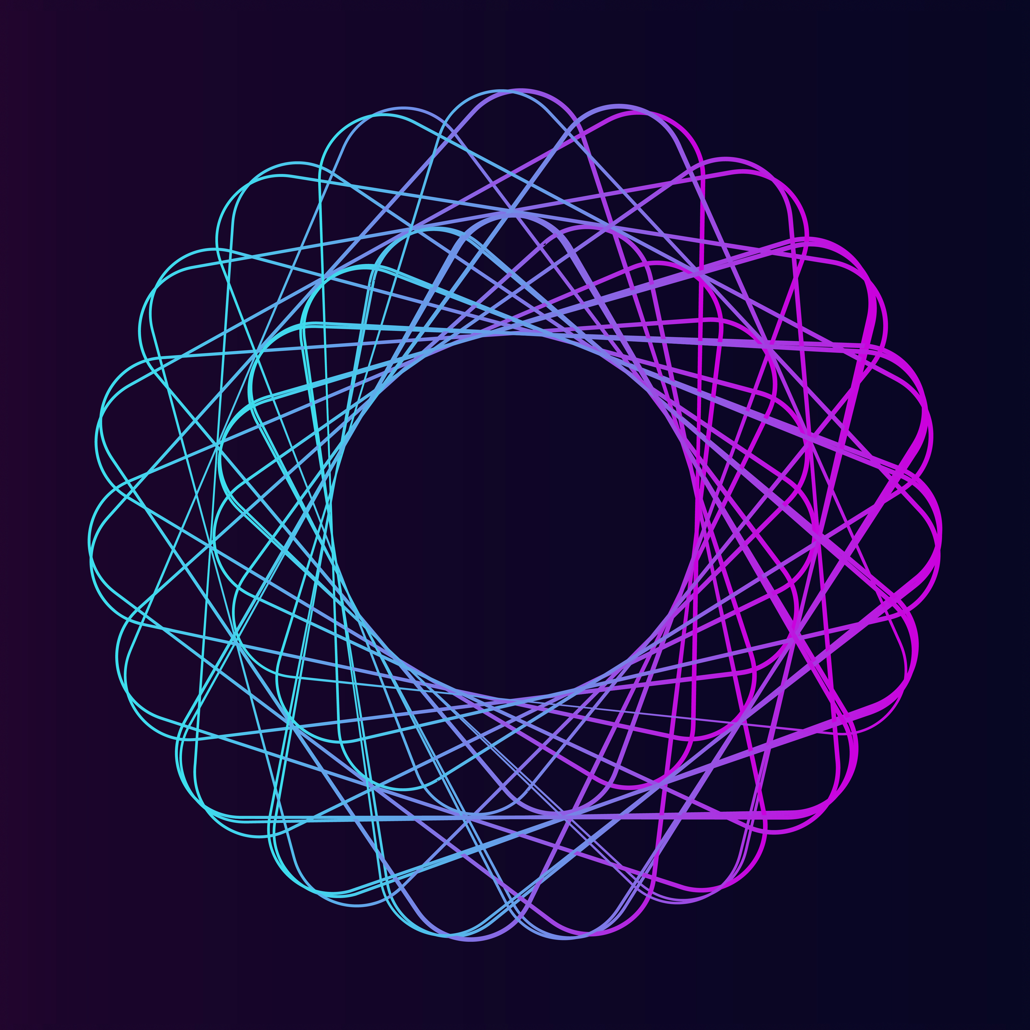 Abstract circular geometric element vector - Download Free ...
