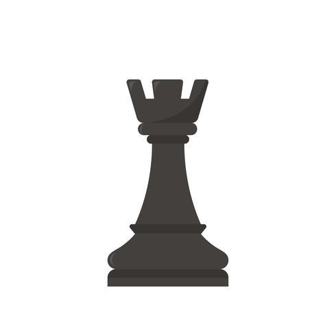 Illustratie van een schaakstuk