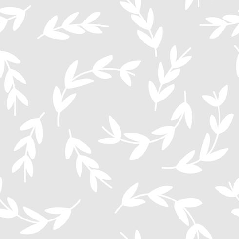 Simple pattern of white branches background