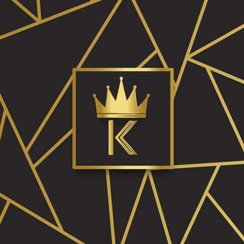 Premium K-kwaliteit ontwerp vector