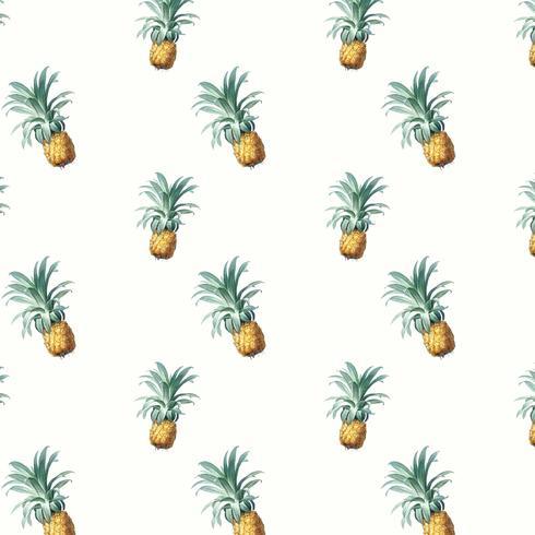 Ilustração de padrão de abacaxi