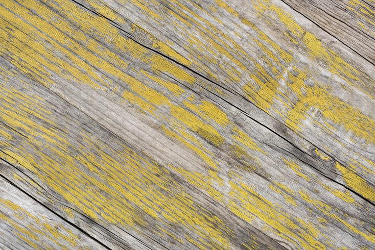 Altes gelbes hölzernes strukturiertes Hintergrunddesign