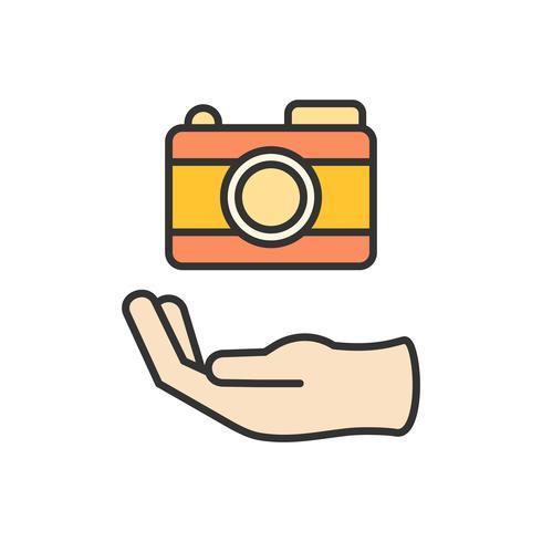 Ilustração, de, gráfico, projete ícone