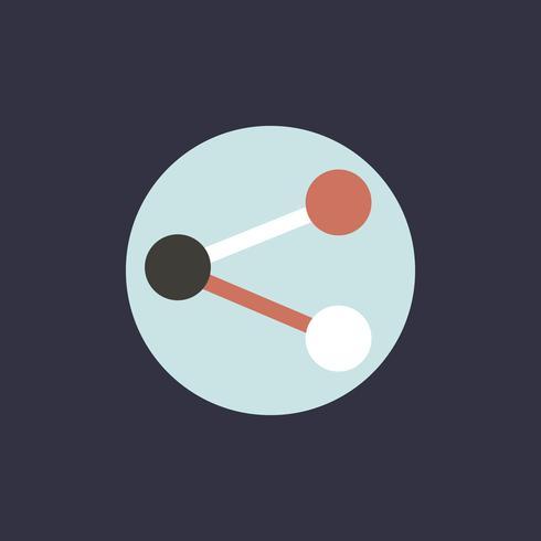 Digitale marketing pictogram vector